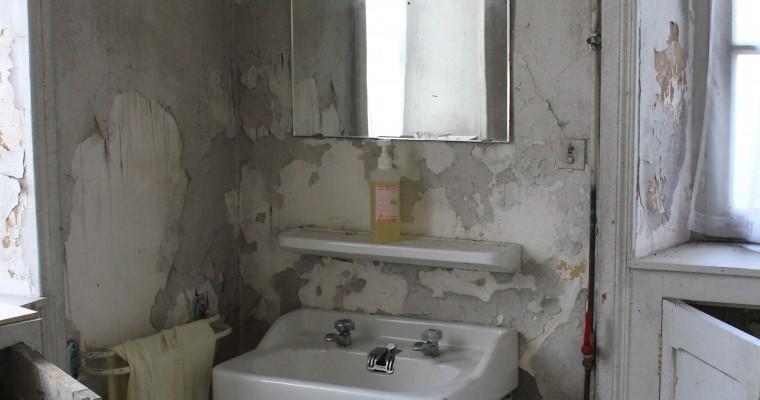 Изхвърляне на всичко старо от баня